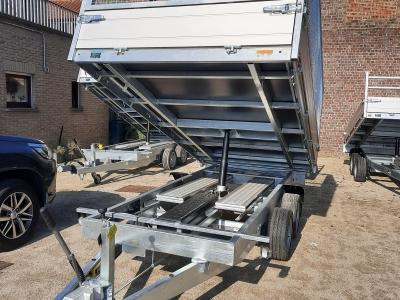 ACHTERWAARTSE KIPPER nr631  SARIS 356 x 184 cm 3500 kg