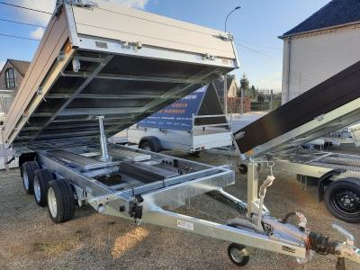 3 ZIJDIGE KIPPER SARIS  3-as 406 x 204cm 3500 kg