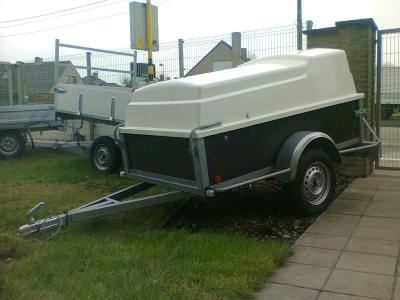 Vakantieaanhangwagen 'BW met deksel'